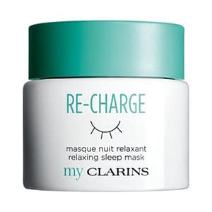 Clarins re-charge sleep mask