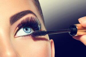 Mascara onderste wimpers